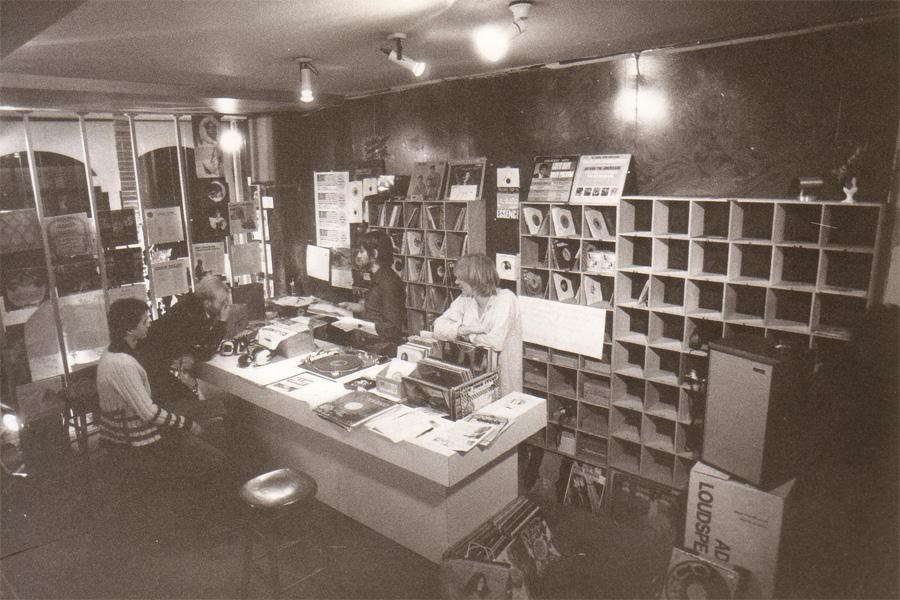 USA Import Music Record Shop 1973