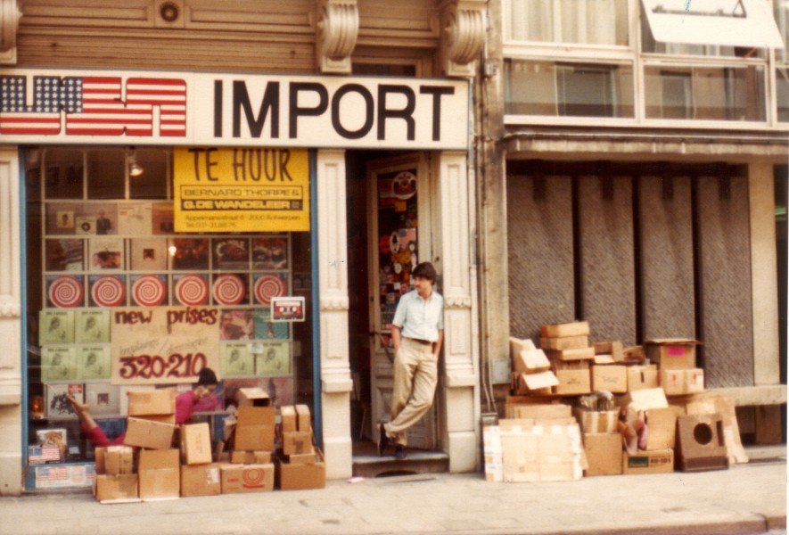 USA Import Music Record Shop 1973
