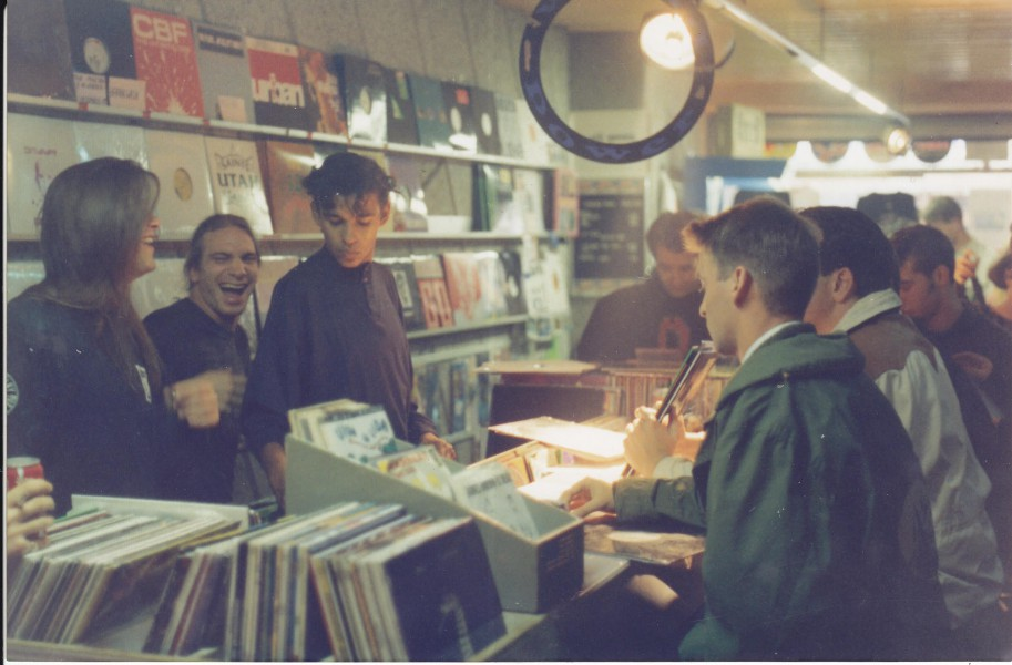 USA Import Music Record Shop 1992